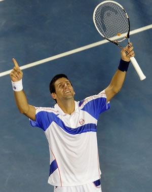 Picture of Novak Djokovic - djokovic-australianopen111.jpg