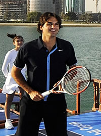Picture of Roger Federer - federer-doha91.jpg