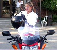 Picture of Amelie Mauresmo - mauresmo_bike.jpg