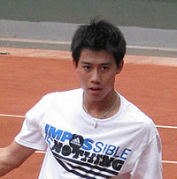 Picture of Kei Nishikori - nishikori-french101.jpg