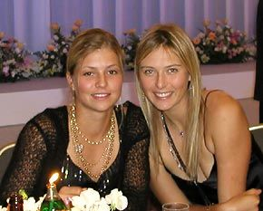 The two Marias, Kirilenko and Sharapova. But Johansson hotter?